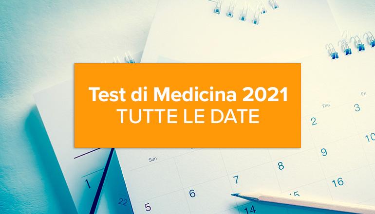 Test di medicina 2021: ecco le date