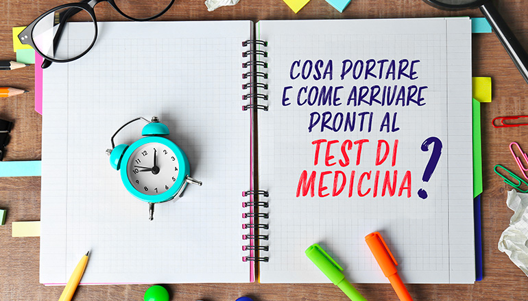 cosa portare al test di Medicina
